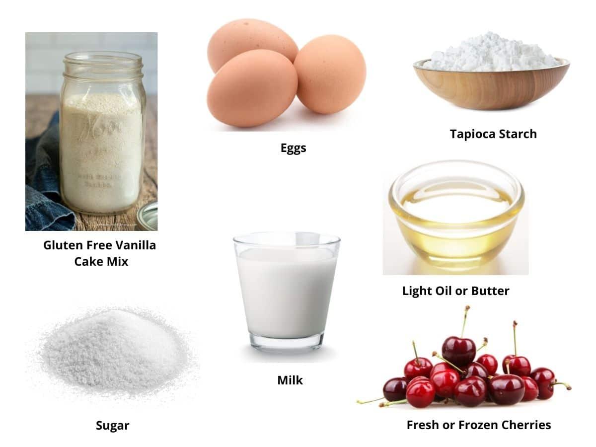 cake mix cobbler ingredients