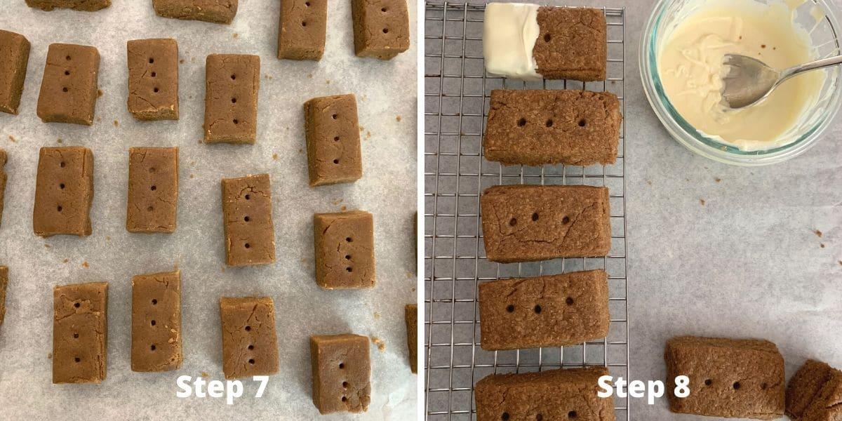 gingerbread shortbread steps 7 and 8 photos