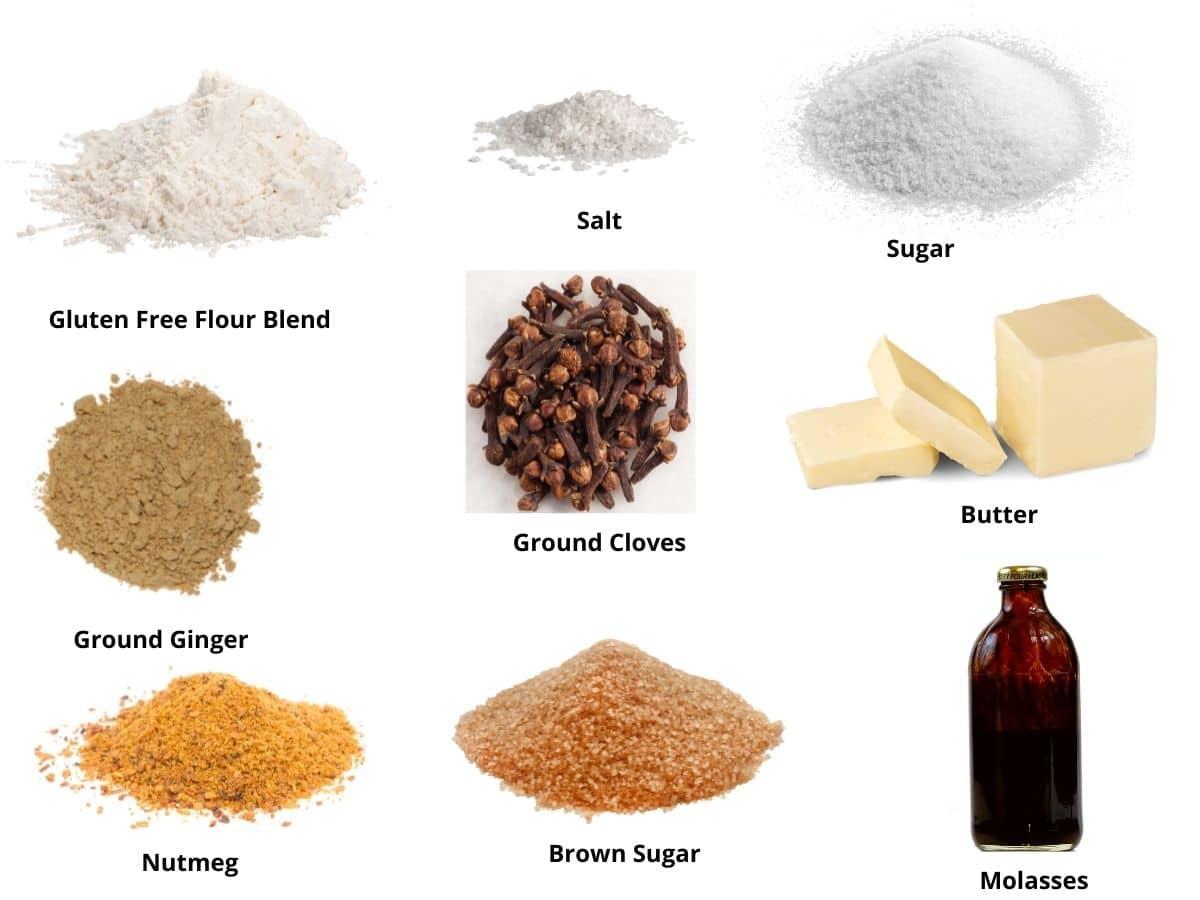 gingerbread shortbread ingredients