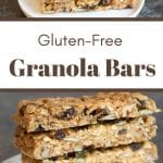 granola bars pinterest pin image