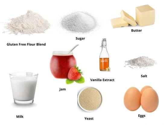 kolache ingredients