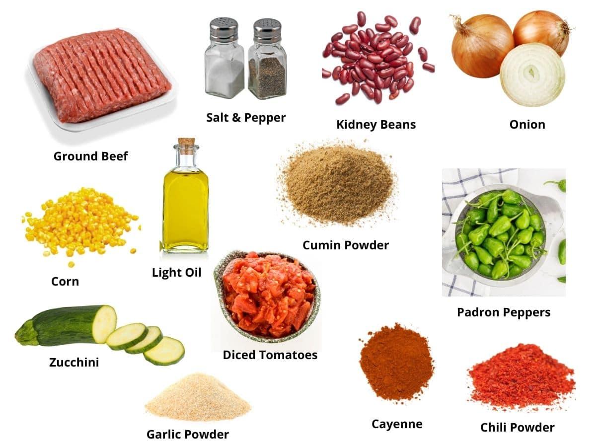 padron chili ingredients