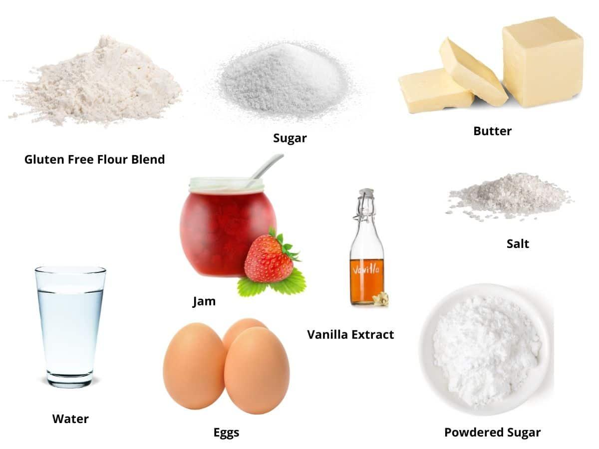 gluten free pop tart ingredients