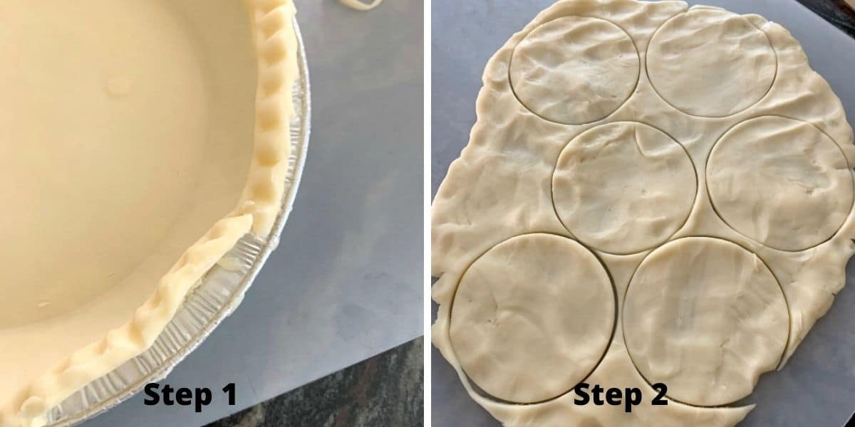 baked hand pies steps 1 and 2