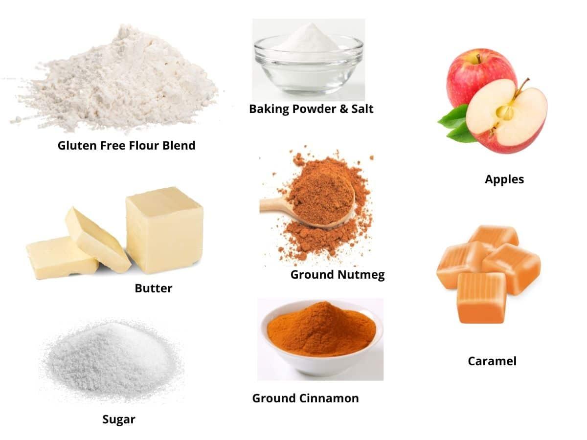 caramel apple donut ingredients