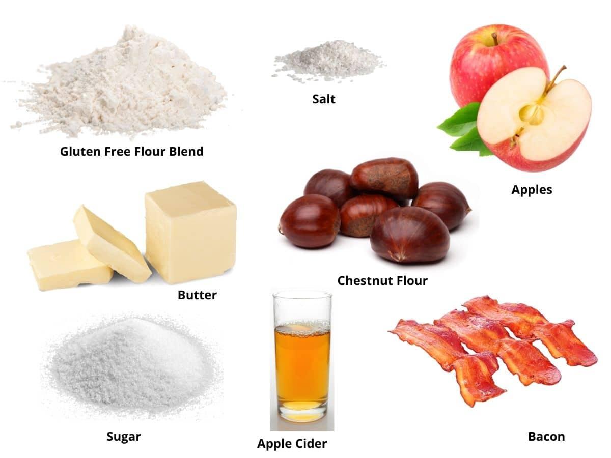 chestnut scones ingredients