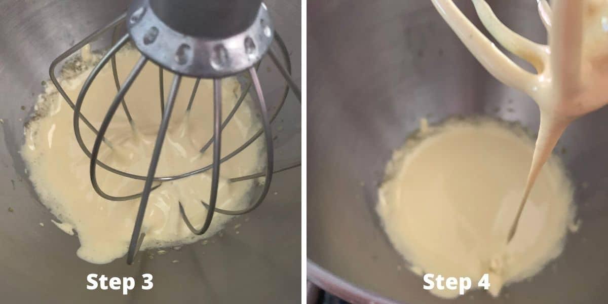steps 3 and 4 photos of making tiramisu