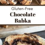 a pinterest pin collage of the babka