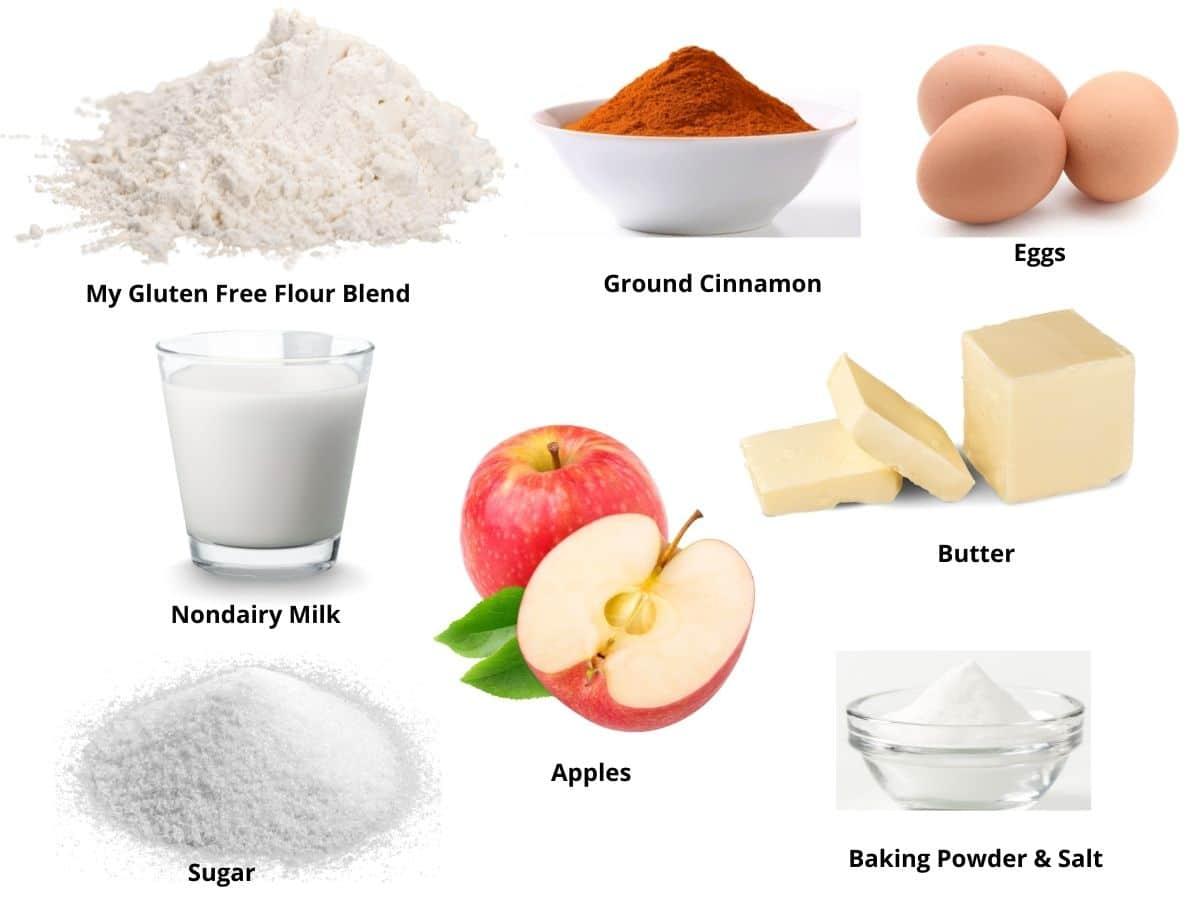 cinnamon apple scones ingredients