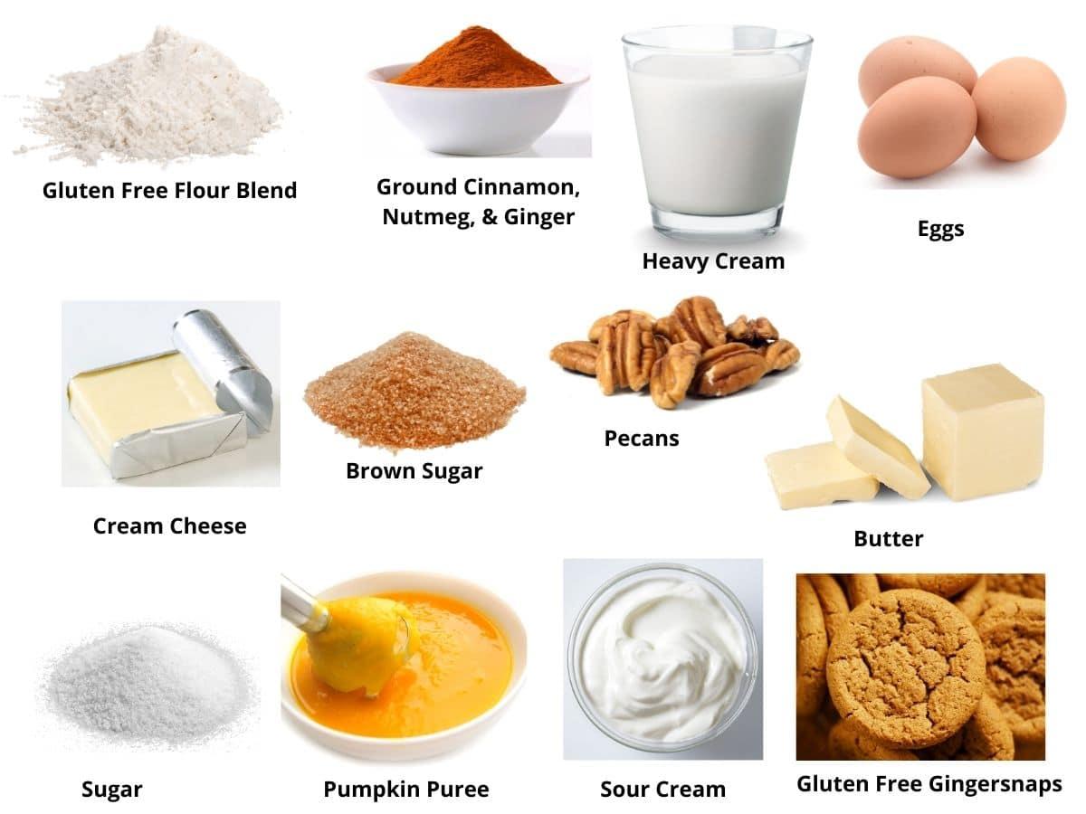 pumpkin cheesecake ingredients