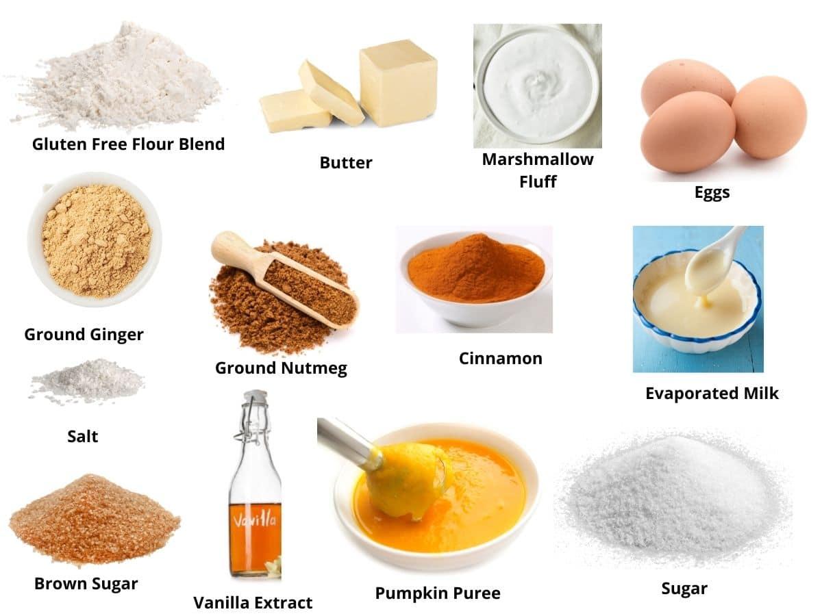 pumpkin cobbler ingredients