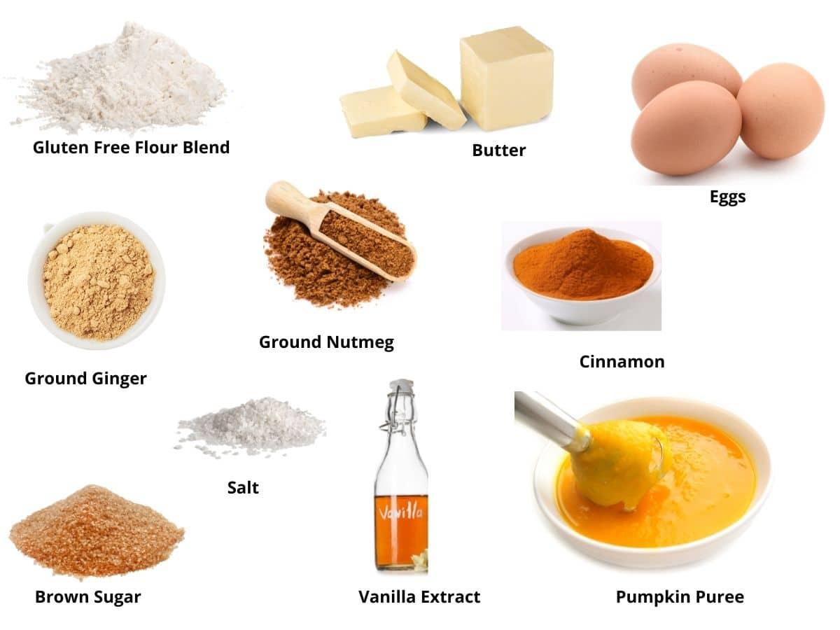 pumpkin coffee cake ingredients